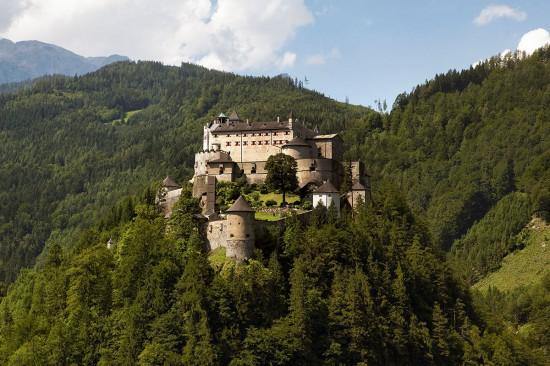 Ausflugsziel Hohenwerfen - Urlaub am Meierlgut