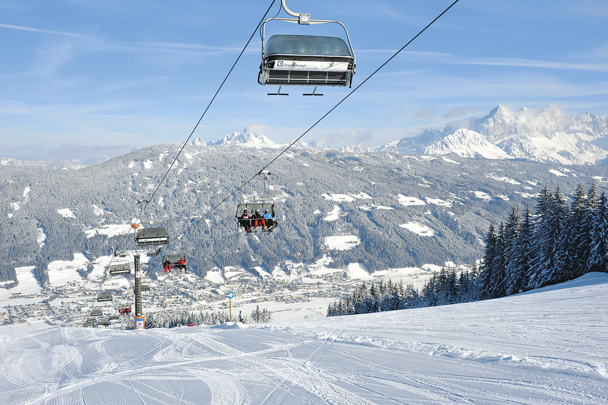 Meierlgut Skifahren in Radstadt