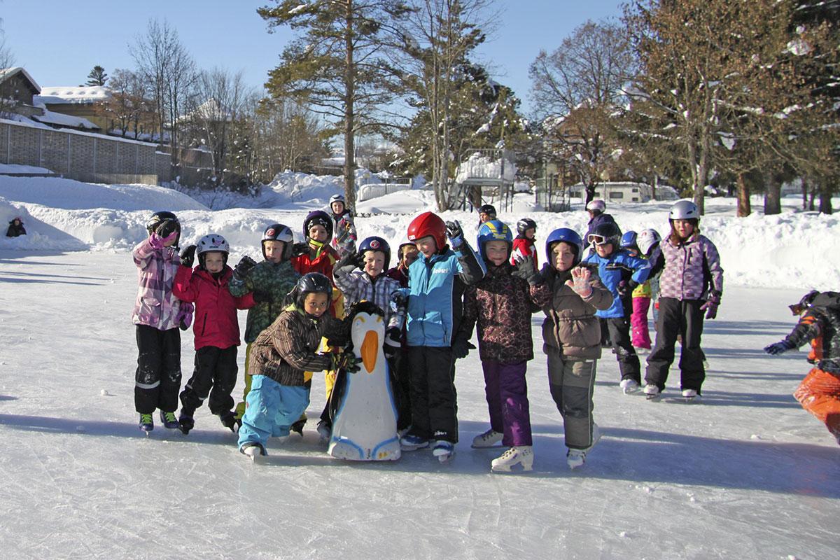 Eislaufen in Radstadt - Winterurlaub am Meierlgut