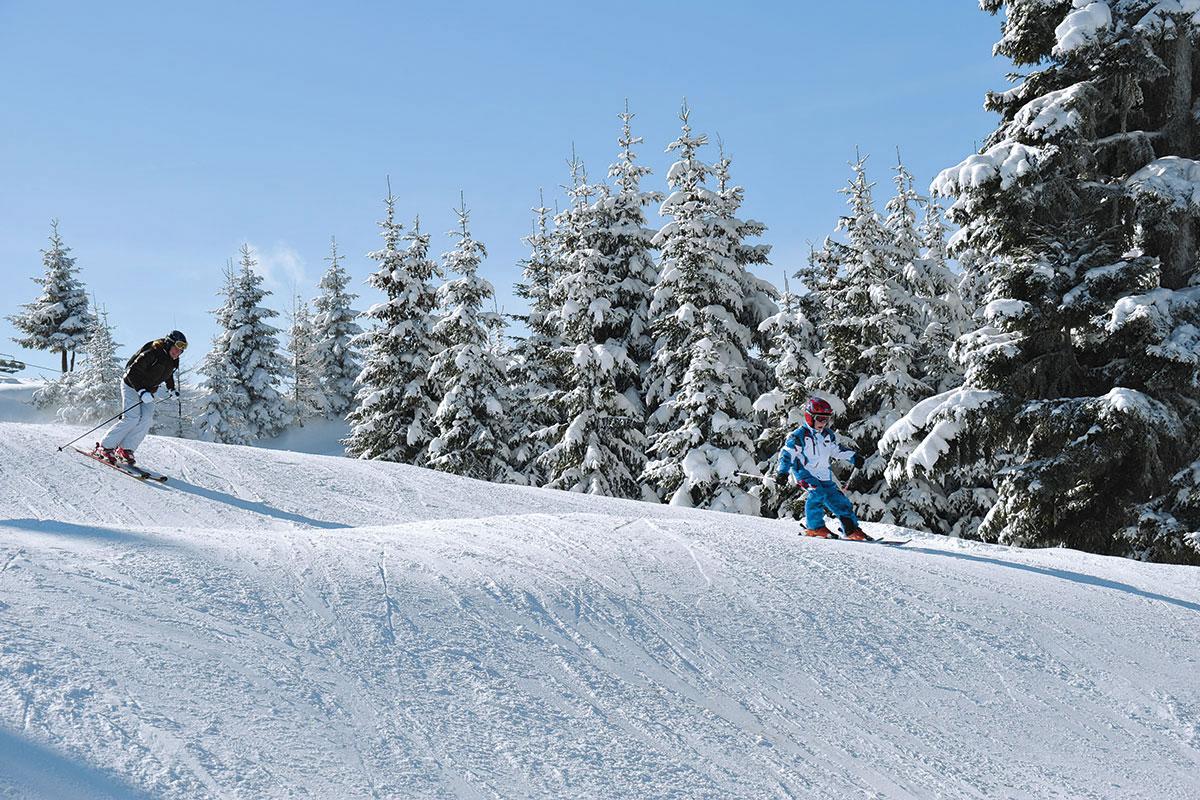 Skifahren und Snowboarden in Radstadt - Winterurlaub am Meierlgut