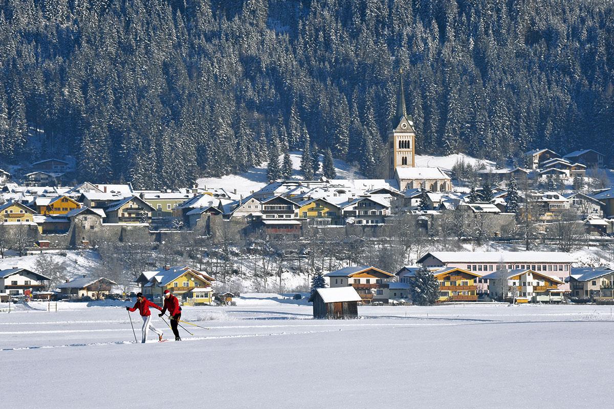 Langlaufen in Radstadt - Meierlgut