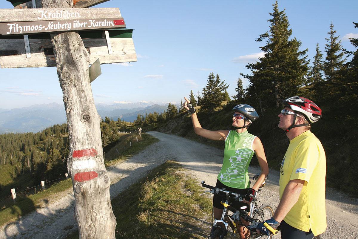 Radfahren und Mountainbiken in Radstadt - Meierlgut
