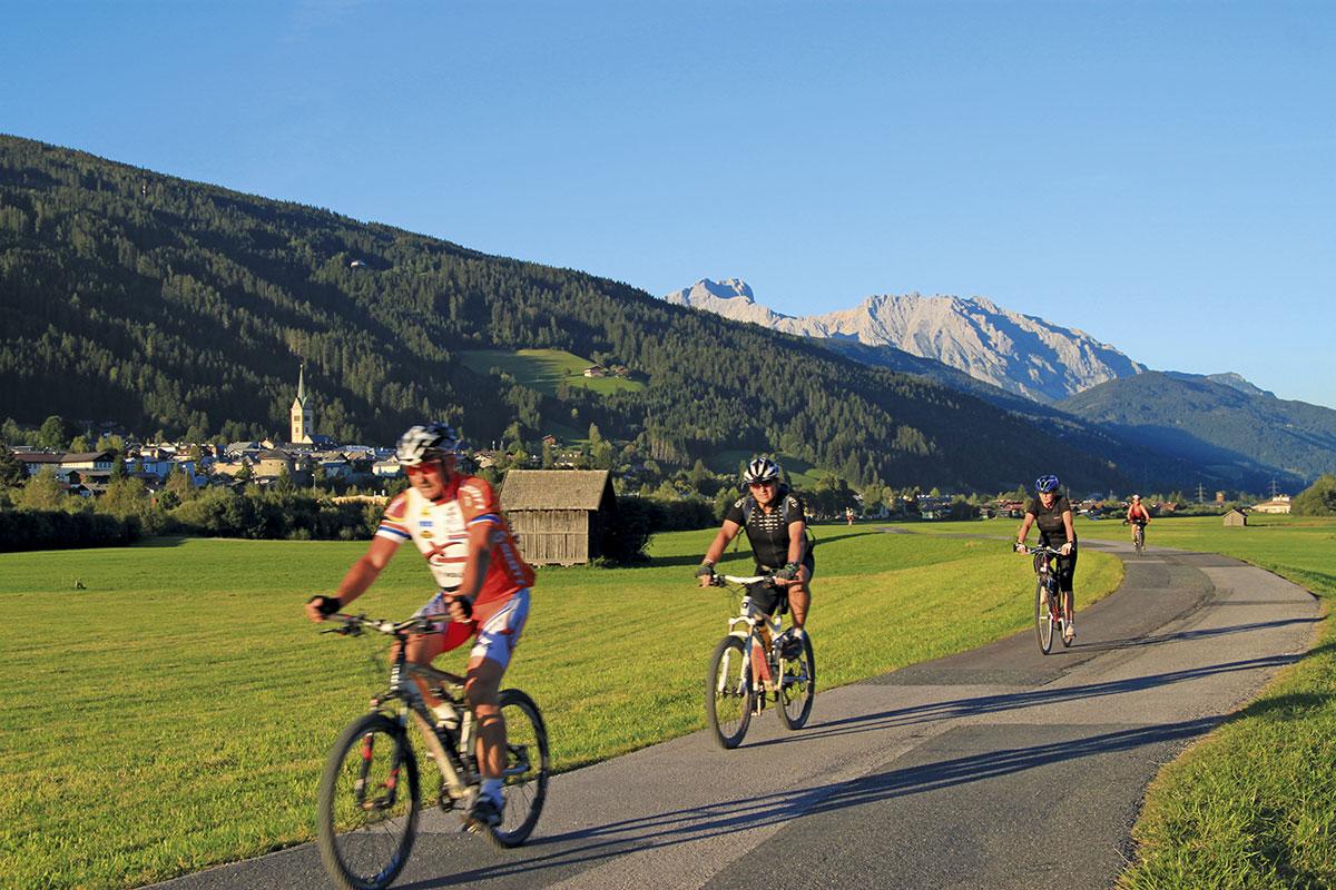 Zahlreiche Rad- und Mountainbike-Routen in Radstadt